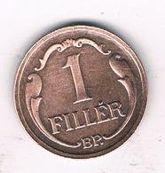 1 FILLER 1927 HONGARIJE /1317/ - Hongrie