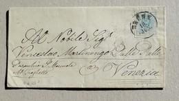 Lettera Vienna-Venezia Affrancata Con 9 Kreuzer - 1850-1918 Impero