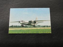 USSR Soviet Russia Pocket Calendar Airplane Plane AN 24  December 1991 - Calendars