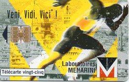 Télécarte Privée LABO MENARINI 2600 Ex 02/98 - Advertising