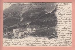 OLD POSTCARD - SWITZERLAND - SCHWEIZ - SUISSE -   ZINAL  1905 - VS Wallis