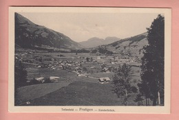 OLD POSTCARD - SWITZERLAND - SCHWEIZ - SUISSE -    TELLENFELD - FRUTIGEN - KANDERBRUECK - BE Bern