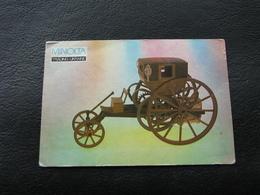 USSR Soviet Russia Pocket Calendar Car Motor Automobile Auto Steam Carriage Trevithick 1803 - 1992 - Calendars