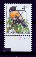 Buzin  PRE * Nr 825 P6 * Plaatnr 2 * Postfris Xx * - 1985-.. Vogels (Buzin)
