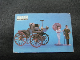 USSR Soviet Russia Pocket Calendar Car Motor Automobile Auto Selden Car 1872 - 1992 - Calendars