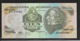 Uruguay - 100 Pesos - Pick N°62A - NEUF - Uruguay