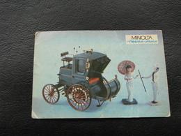 USSR Soviet Russia Pocket Calendar Car Motor Automobile Auto Electrocab 1899 - 1992 - Calendars