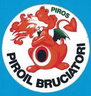 AUTOCOLLANT PIROS PIROIL BRUCIATORI - Pegatinas