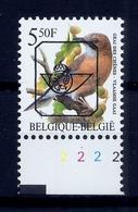 Buzin  PRE * Nr 827 B.P6a * Plaatnr 2 * Postfris Xx * - 1985-.. Vogels (Buzin)