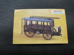 USSR Soviet Russia Pocket Calendar Car Motor Automobile Auto Daimler 1896 - 1992 - Calendars