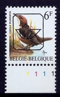 Buzin  PRE * Nr 829 P6a * Plaatnr 1 * Postfris Xx * - 1985-.. Vogels (Buzin)
