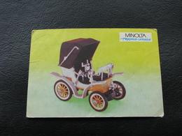 USSR Soviet Russia Pocket Calendar Car Motor Automobile Auto Fiat 1899 - 1992 - Calendars