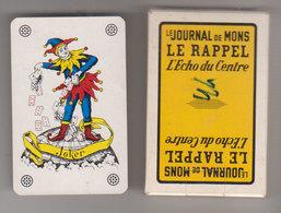 Jeu De Carte Journal De Mons  Rappel - 32 Cartes