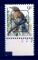Buzin  PRE * Nr 833 P6a * Plaatnr 2 * Postfris Xx * - 1985-.. Oiseaux (Buzin)