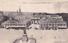 Nancy Vue Panoramique Prise De L'Hotel De Ville - Nancy