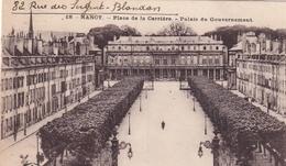Nancy Place De La Carrière Palais Du Gouvernement - Nancy