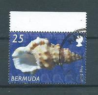 2002 Bermuda 25 Shell,sealife Used/gebruikt/oblitere - Bermudes