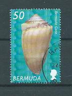 2002 Bermuda 50 Shell,sealife Used/gebruikt/oblitere - Bermuda