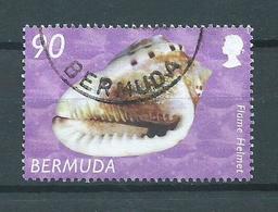 2002 Bermuda 90 Shell,sealife Used/gebruikt/oblitere - Bermudes