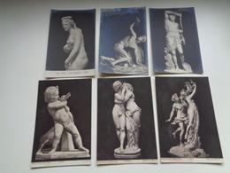 Beau Lot De 60 Cartes Postales De Sculptures  Sculpture  Statue        Mooi Lot Van 60 Postkaarten Sculpturen  Sculptuur - Cartes Postales