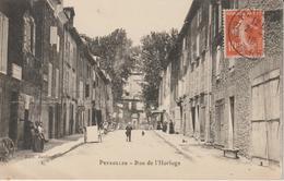 BOUCHES-DU-RHONE  PEYROLLES RUE DE L'HORLOGE - Peyrolles