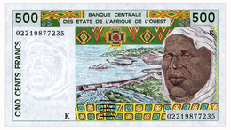 WEST AFRICAN STATES SENEGAL 500 FRANCS 2002 Pick 710Km Unc - Stati Dell'Africa Occidentale
