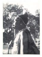 Photo Afrique 12,8 X 17,8 Cms, AEF, Oubangui Chari - Danseur à Bambari - Afrique