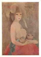 Art - Peinture - Marie Laurencin - Femme Et Enfant - Voir Scans Recto-Verso - Peintures & Tableaux