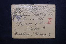 FRANCE / ALLEMAGNE - Enveloppe De Vannes Pour Un Prisonnier De Guerre De L'Oflag XIIIA En 1940 - L 53766 - Storia Postale