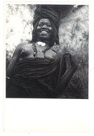 Photo Afrique 12,8 X 17,8 Cms, AEF, Tchad - Fort Lamy - Femme Arabe  ( Seins Nus ) - Afrique