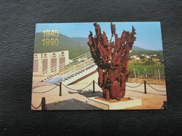 USSR Soviet Russia Pocket Calendar Memorial Complex Death Valley 1990 - Calendars