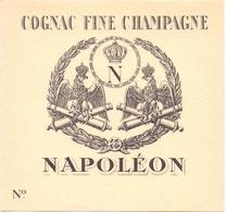 Etiket Etiquette - Cognac Fine Champagne - Napoleon - Autres