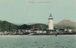 MALAGA - LA FAROLA DEL PUERTO - Málaga