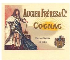 Etiket Etiquette - Cognac Augier Frères & C° - Louis XIV - Autres