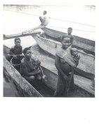 Photo Afrique 12,8 X 17,8 Cms, AEF, Moyen Congo - Femmes Et Enfants Au Bac De Djambala - Afrique