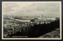 Palestine Jerusalem Mount Of Olives Bethlehem 1936 - Palestine