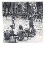 Photo Afrique 12,8 X 17,8 Cms, AEF, Moyen Congo - Fort Rousset - Le Marché Aux Palmistes ( Femmes Seins Nus ) - Afrique