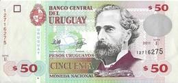 Uruguay - 50 Pesos 2011 - Série E - N° 12716275 - Superbe - - Uruguay