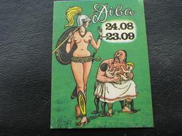 Ukraine Pocket Calendar Slavia Lybid Advertising Kozak Children Amazon 1994 - Calendars