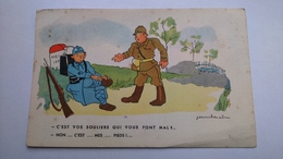 Carte Postale ( CC2 ) Ancienne Illustrateur  JEAN CHEVAL - Cheval