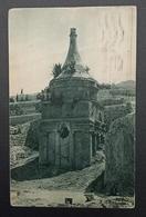 Palestine Jerusalem 10m Pictorial 1927 Absalom's Pillar Mary's Well - Palestine