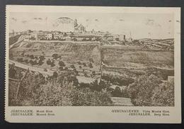 Palestine Jerusalem Mount Sion 3m Pictorial 1932 Italy - Palestine