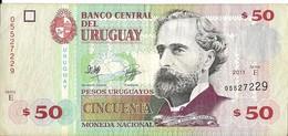 Uruguay - 50 Pesos 2011 - Série E - N° 05527229 - Superbe - - Uruguay