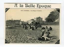 C.P °_ 06-Cannes-Belle Epoque-Plage Et Casino-1989 - Cannes