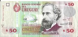 Uruguay - 50 Pesos 2011 - Série E - N° 09213739 - TTB - - Uruguay