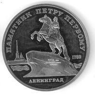 RUSSIE - RUSSIA - 5 ROUBLES 1988 - Leningrad - Pierre Le Grand - Russland