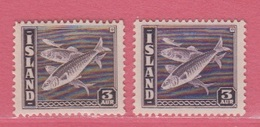 1939 ** (sans Charn., MNH, Postfrish)  Yv  172 (2)Mi  209 A/B - Nuevos