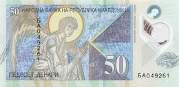 MACEDONIA P. 26 50 D 2018 UNC - Macedonia