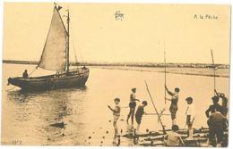 CPA - A La Pêche - ( Flandre Occidentale ) - Ed. STAR N°1352 - Belgique