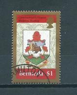 1996 Bermuda $1 Finance Used/gebruikt/oblitere - Bermuda